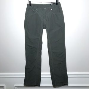 Kuhl Outdoor Straight Leg Hiking Pants In Green